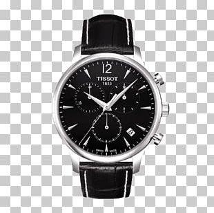 Watch Chronograph Tissot Quartz Clock Dial PNG
