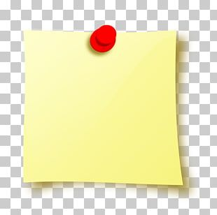 Paper Yellow Rectangle PNG
