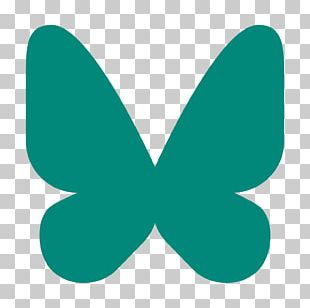 Butterfly Insect Pollinator Green Teal PNG