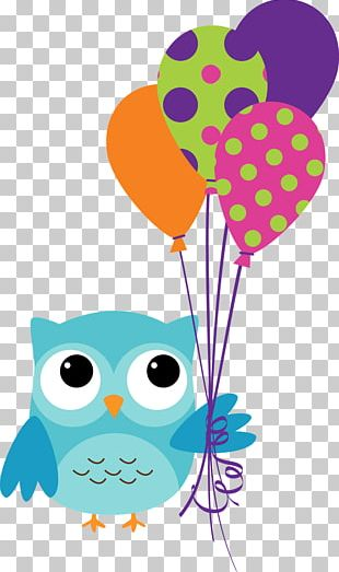 Owl Birthday Cake PNG