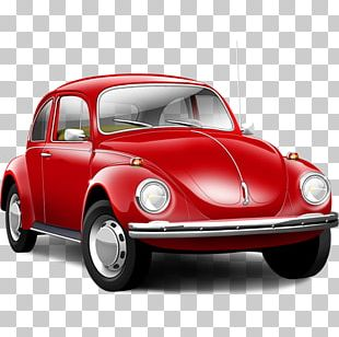 Sports Car Volkswagen Beetle Icon PNG