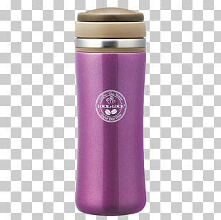 Water Bottle Purple PNG