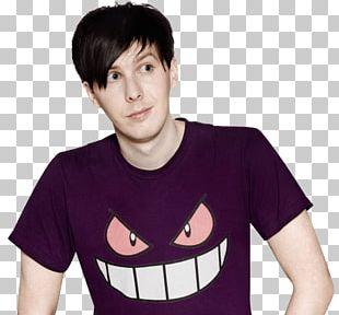 AmazingPhil Purple Tshirt PNG