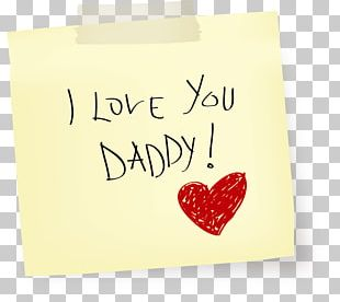 Fathers Day Love PNG