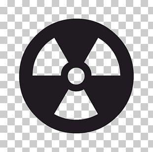 Radiation Hazard Symbol Radioactive Decay PNG
