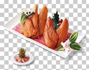 Sashimi Smoked Salmon Platter Recipe PNG