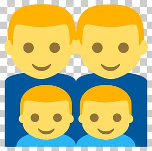 Smiley Emoji Family Infant Child PNG