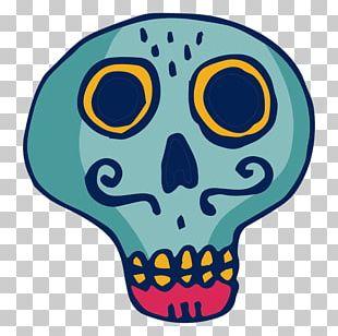 Human Skull Symbolism PNG