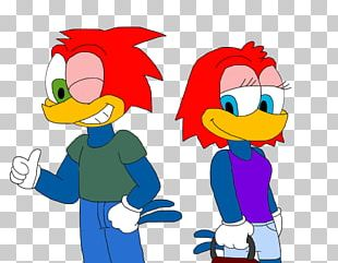 Woody Woodpecker Knothead & Splinter YouTube Art Universal S PNG