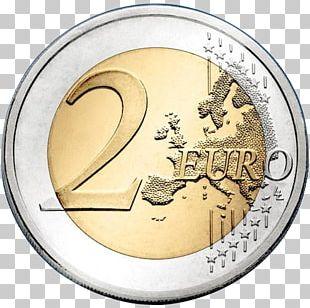 2 Euro Coin Euro Coins 2 Euro Commemorative Coins PNG