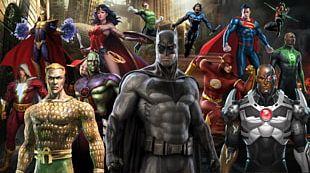 Batman Superman Superhero DC Comics Comic Book PNG