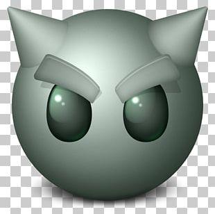 Head Snout Green Font PNG
