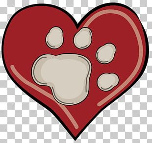 Love Heart Paw PNG