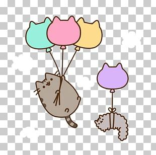Pusheen Cat Kitten Cartoon PNG