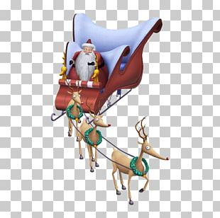 Kingdom Hearts II Kingdom Hearts: Chain Of Memories Reindeer Santa Claus PNG