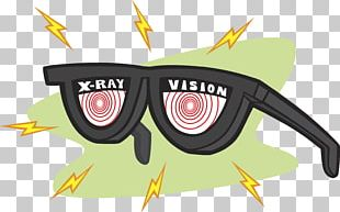 X-ray Specs Glasses X-ray Vision PNG