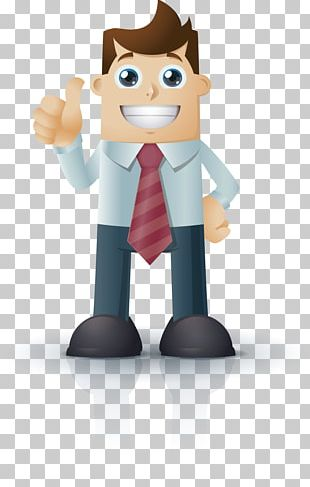 Character Cartoon Infographic PNG