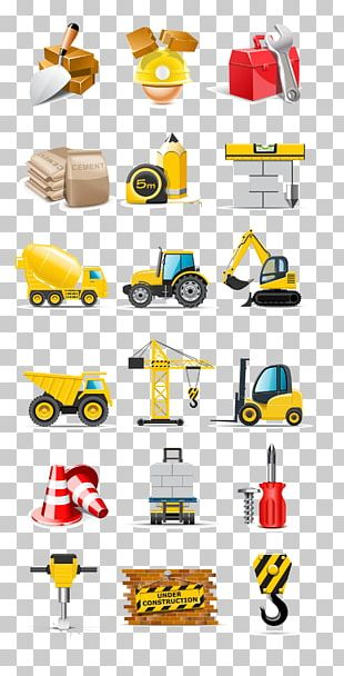Heavy Machinery Architectural Engineering Truck Vehicle PNG