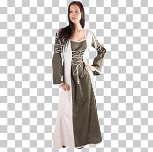 Middle Ages English Medieval Clothing Dress Gown PNG