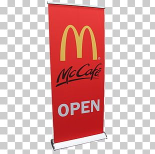 Banner Advertising Standee Printing Textile PNG