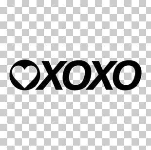 Logo Hugs And Kisses XOXO Clothing PNG
