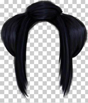 Black Hair Hair Tie Long Hair Capelli PNG