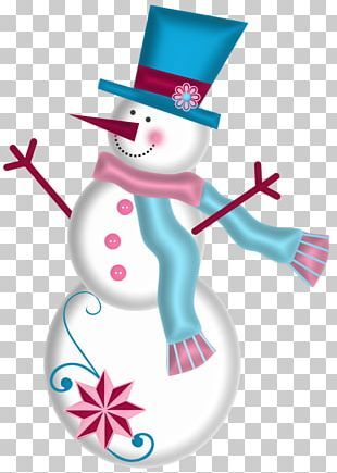 Jack Frost Snowman Christmas PNG