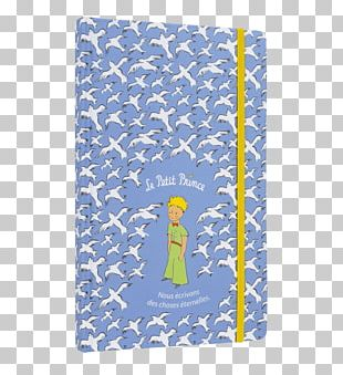 Notebook The Little Prince Drawing Paper Blue PNG
