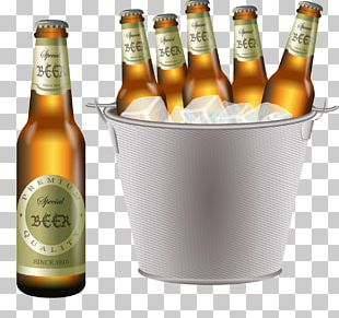Beer Cocktail Wine Ice Beer Bucket PNG