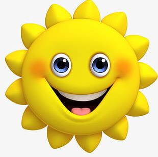 Cartoon Cute Sun PNG