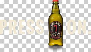 Lager Beer Bottle Distilled Beverage Cider PNG