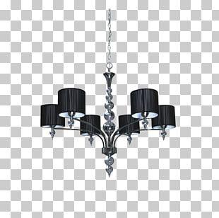 Chandelier Lamp Spotlight LYON Light Fixture Baroque PNG