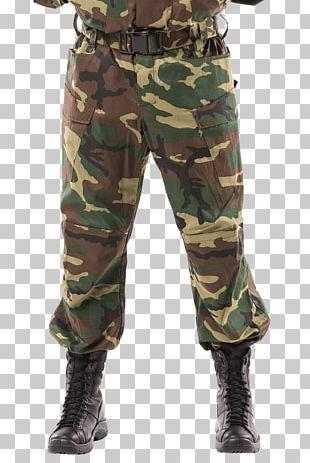 Cargo Pants Battle Dress Uniform U.S. Woodland Camouflage PNG