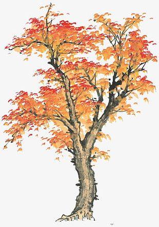 China Wind Tree PNG