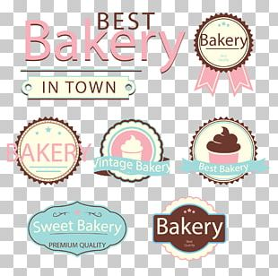 Bakery Cake Logo Label PNG