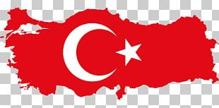 Flag Of Turkey Map National Flag PNG