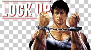 Sylvester Stallone Lock Up Blu-ray Disc DVD Shoulder PNG