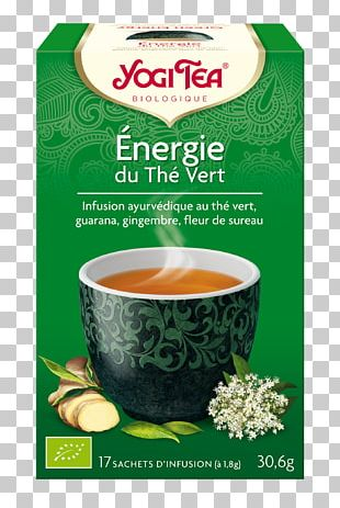 Green Tea Organic Food White Tea Yogi Tea PNG