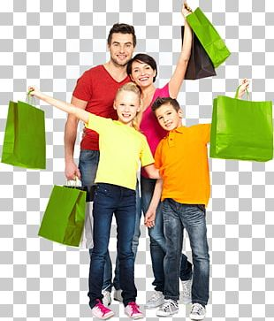 Shopping Centre Stock Photography Family Bag PNG