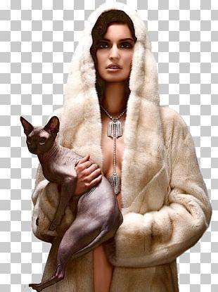 Fur Clothing Fashion Designer Coat PNG