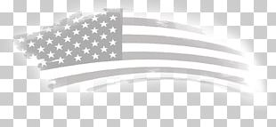 Flag Of The United States White Flag Thin Blue Line PNG