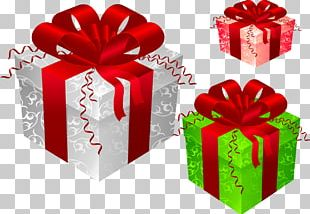 Santa Claus Christmas Tree Gift Prize PNG