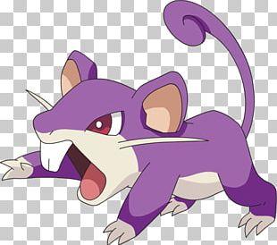 Rattata Raticate Pokémon GO Pokédex PNG