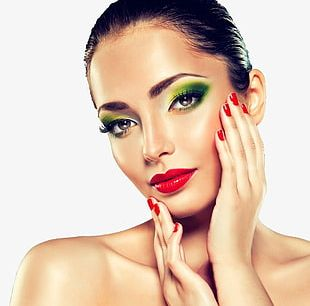 Makeup Model PNG
