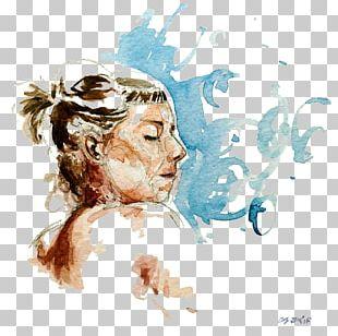 Visual Arts Watercolor Painting Sketch PNG
