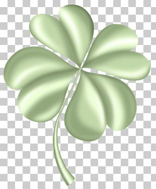 Four-leaf Clover Saint Patricks Day Shamrock PNG
