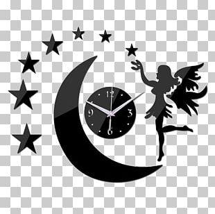 "Latitude Run Wetherill Modern Round Analog 20"" Wall Clock Wall Decal Quartz Clock PNG"