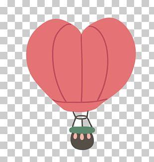 Flight Heart Balloon PNG