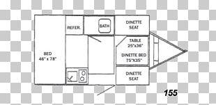 Floor Plan Caravan Campervans Trailer Airstream PNG