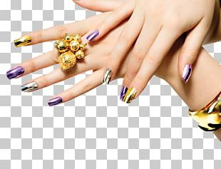 Nail Polish Gel Nails Manicure Nail Salon PNG